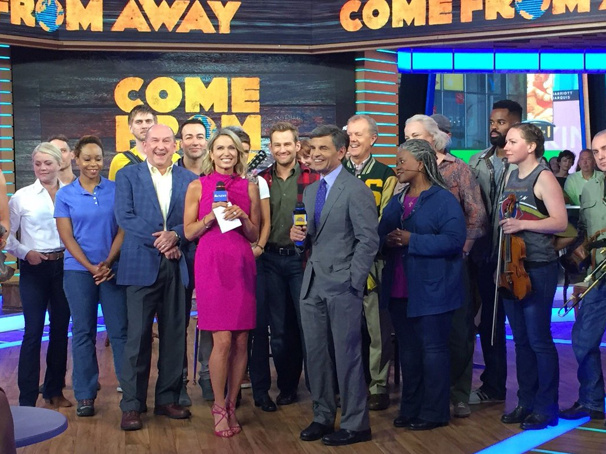 Watch the Cast of Broadway's Come From Away Bring Spirited Moves to Good Morning America
