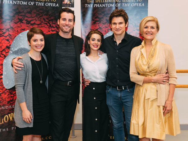 Meghan Picerno, Gardar Thor Cortes & the Cast of the Love Never Dies Tour Ready for the Phantom's Return