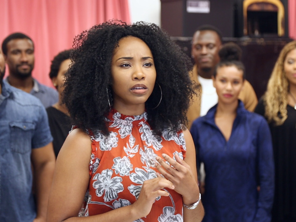 Watch Adrianna Hicks & the Cast of The Color Purple Tour Make Harmony in Rehearsal