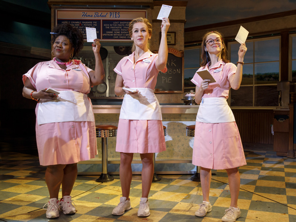 See Sara Bareilles & the Women of Waitress Cook Up Support for Breast Cancer Awareness Month