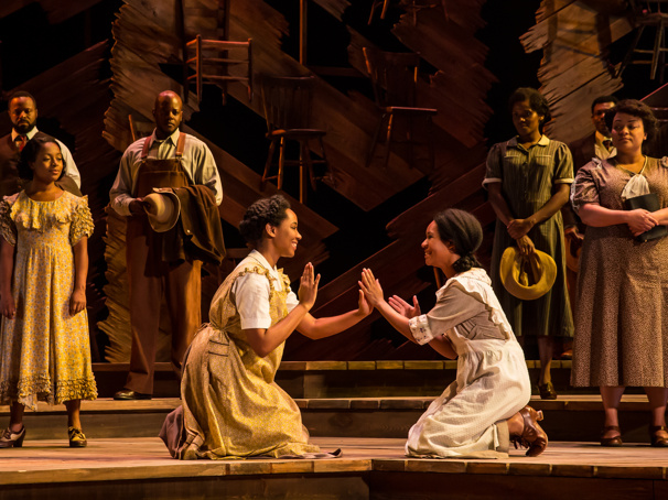 Houston's Broadway at the Hobby Center Chats with The Color Purple Tour's N'Jameh Camara