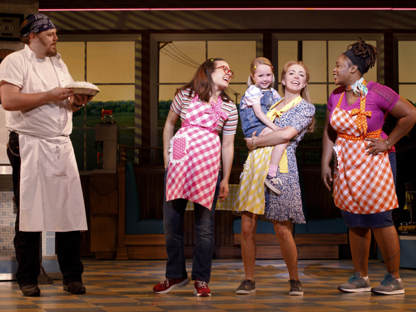 You Wanna Know What's Inside! Broadway Balances America Goes Behind the Scenes with Waitress—The Musical