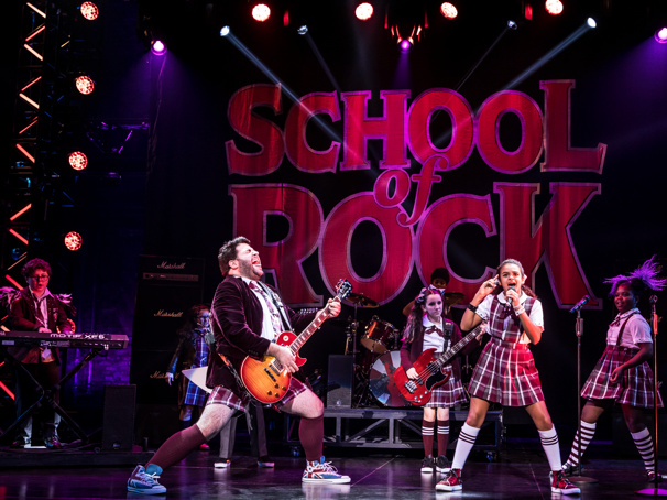 School of Rock—The Musical Tour Welcomes a New Batch of Young Band Members