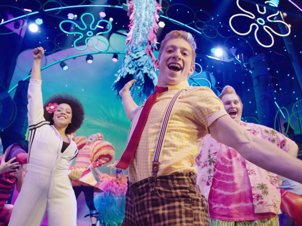 Watch These Splashy, Colorful Show Clips of Broadway's SpongeBob SquarePants