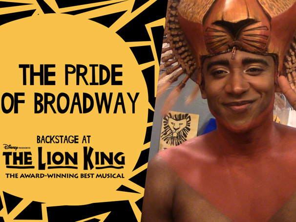 Backstage at The Lion King with Jelani Remy, Episode 2: Inner Workings