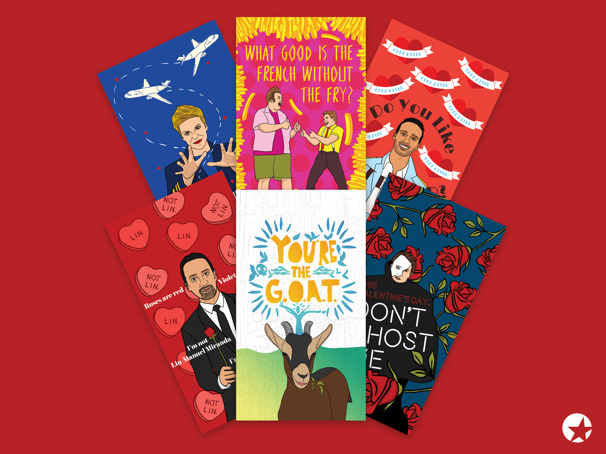 Celebrate V-Day with Lin-Manuel Miranda & More Faves with These Broadway Valentines