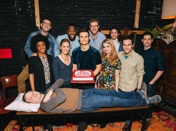 The Play That Goes Wrong Celebrates a Year of Marvelous Mayhem on Broadway