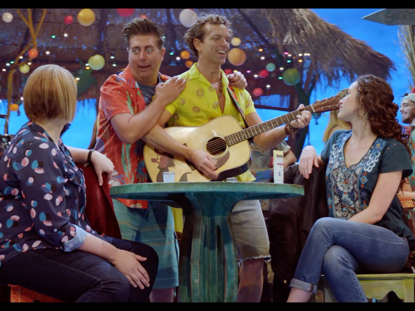 Raise a Glass with These Escape to Margaritaville Show Clips