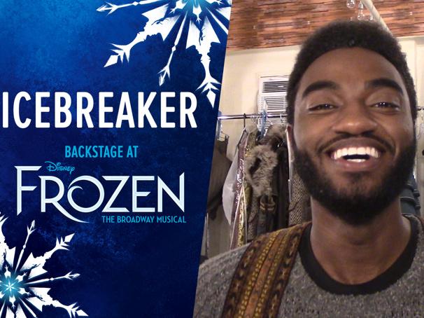 Backstage at Frozen with Jelani Alladin, Episode 2: Listen Up