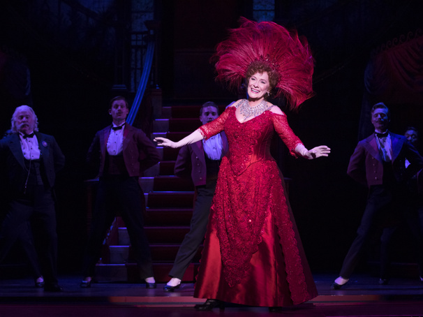 Betty Buckley in the national tour of Hello, Dolly!, photo by Julieta Cervantes