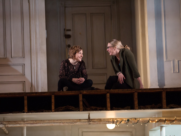 Daisy Egan & Therese Plaehn in The Human tour.