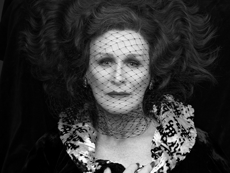 Glenn Close As Norma Desmond Photo Nick Wall