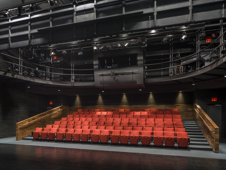 The Interior Of Lincoln Centeru0027s Claire Tow Theater (Photo: Francis  Dzikowski ESTO)