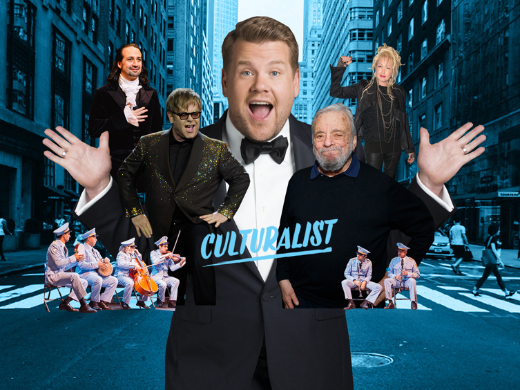 Culturalist Challenge! Which 10 Broadway Songwriters Deserve a Crosswalk the Musical with James Corden?