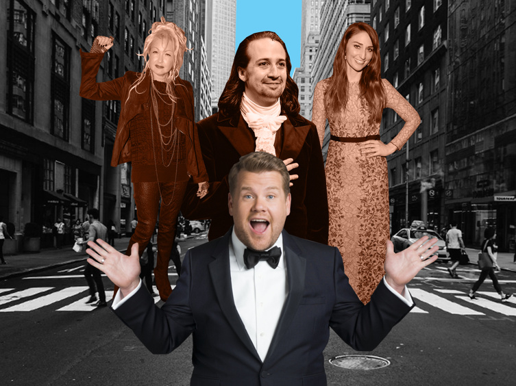 The Fans Have Spoken! The Top 10 Broadway Songwriters That You Want To See Do Crosswalk the Musical with James Corden