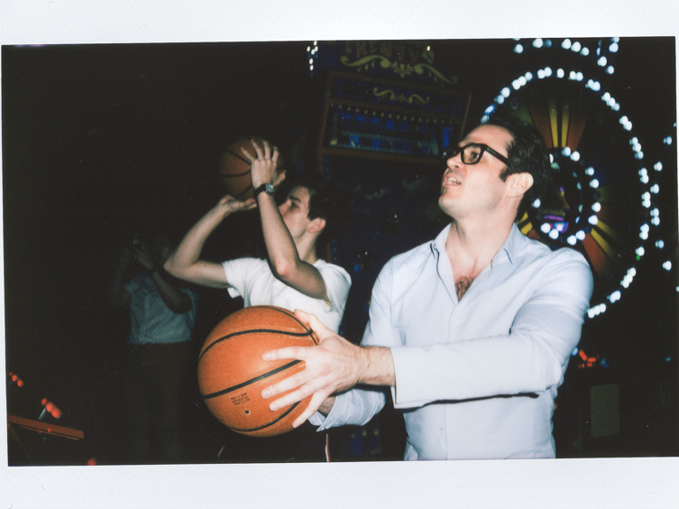 Game On! Check Out Fun Polaroids of Gettin' the Band Back Together Stars on Opening Night