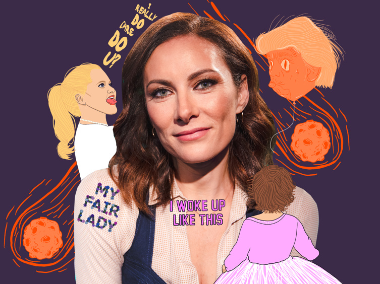 My Fair Lady's Laura Benanti on Getting Close with Amy Schumer, Spoofing Melania Trump & More on Show People