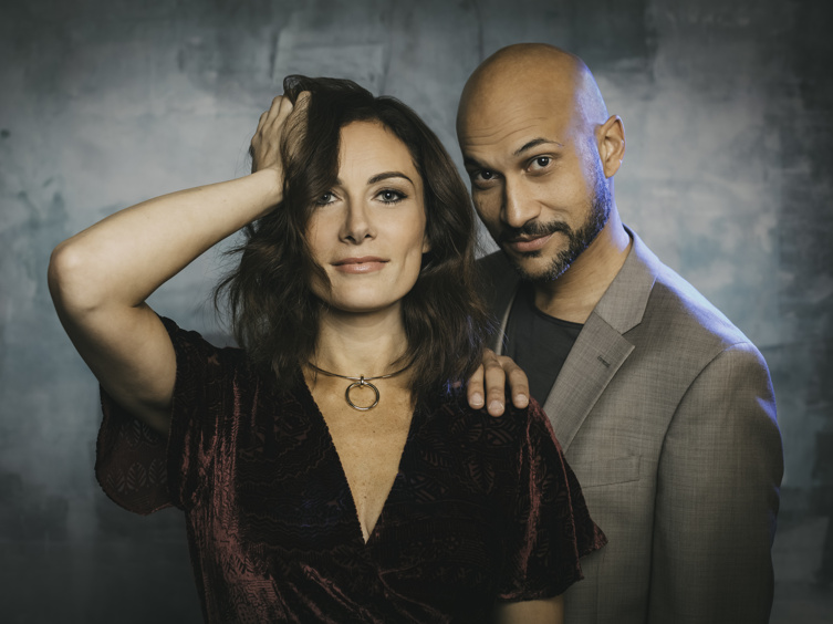 Laura Benanti and Keegan-Michael Key Talk Smart and Silly About Their Hilarious Broadway Pairing in Meteor Shower