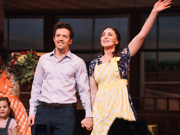 Delicious Idea! See Sara Bareilles Join Jason Mraz in Broadway's Waitress