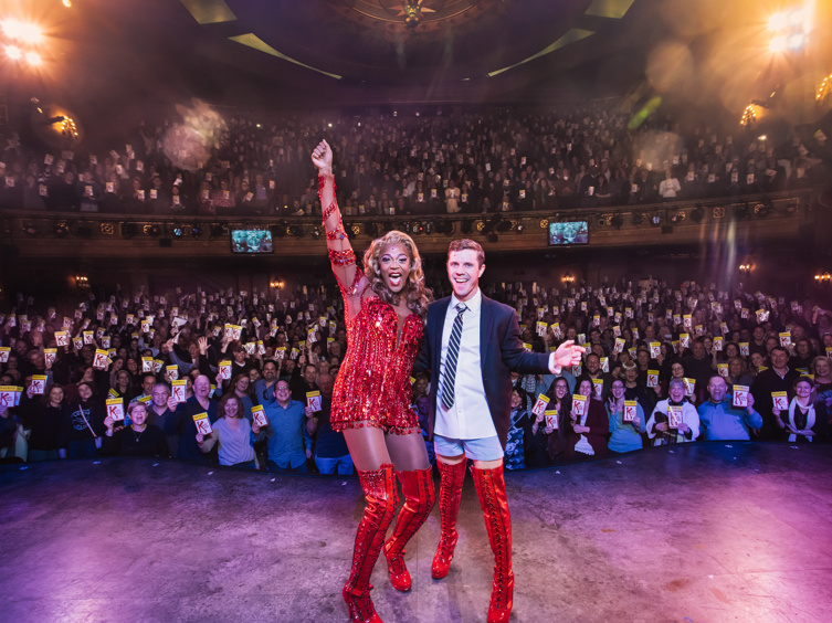 The Most Beautiful Thing in the World! Kinky Boots Celebrates 2,000 Performances
