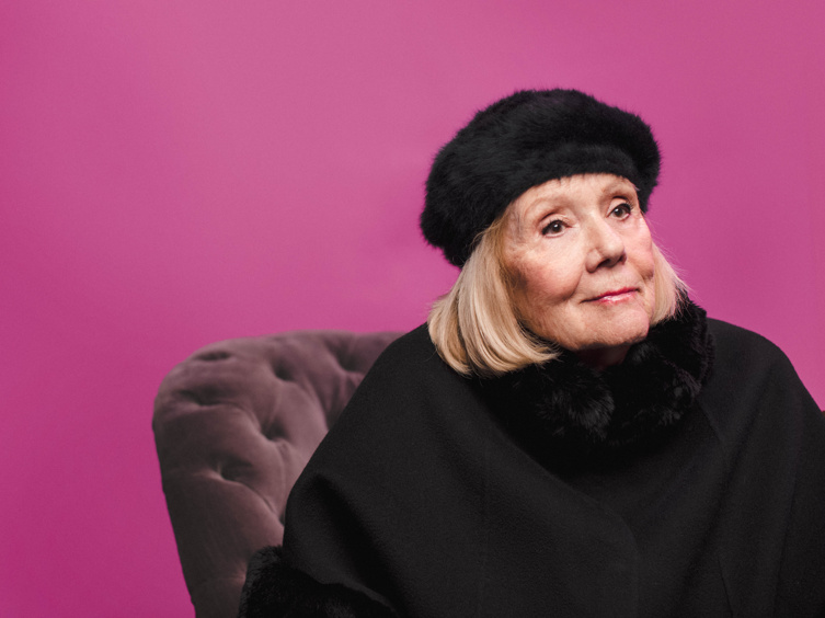 My Fair Lady's Diana Rigg on Broadway Memories and Sharing the Bubbly