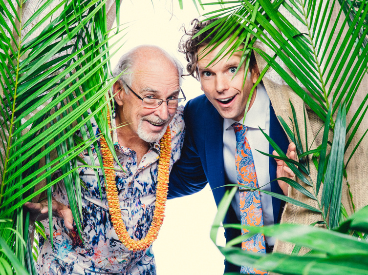 Portraits in Paradise! See Jimmy Buffett & the Cast of Escape to Margaritaville Party on Opening Night