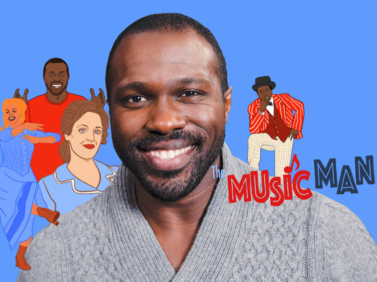 Carousel Star Joshua Henry is a Total Jessie Mueller Fanboy, Has Music Man Dreams & More Takeaways from Show People