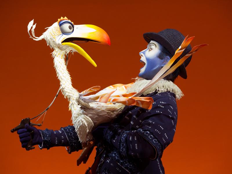 Photo 4 of 9 | Show Photos: The Lion King Lion King Broadway Zazu