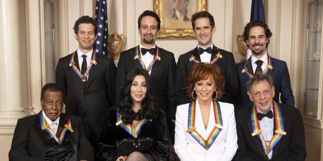 Hamilton's Creative Team, Cher & More Receive Kennedy ...