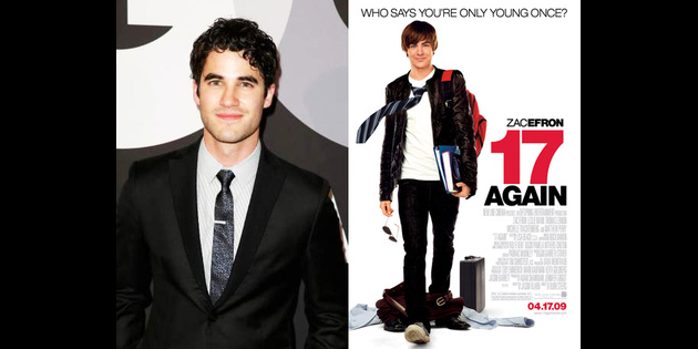 Before Headlining Hedwig, Glee's Darren Criss to Star in 17 Again Musical Reading
