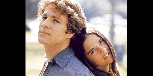Love Story Oscar Nominees Ali MacGraw Amp Ryan ONeal To