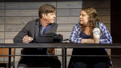 Rick Holmes as Kevin O'Neill and Casey Whyland as Angela Russo in Dan Cody's Yacht.