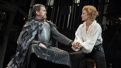 Dylan Baker as Constant Coquelin and Janet McTeer as Sarah Bernhardt in Bernhardt/Hamlet.