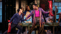 Mark Ballas as Charlie Price and J. Harrison Ghee as Lola in Kinky Boots.