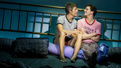 Ward Horton as Ed and Michael Urie as Arnold in Torch Song.
