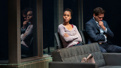 Kerry Washington as Kendra Ellis-Connor and Steven Pasquale as Scott Connor in American Son.