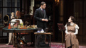 Harry Hadden-Paton as Henry Higgins and Laura Benanti as Eliza Doolittle in  My Fair Lady.
