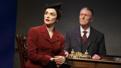 Rachel Weisz as Susan Traherne and Bryon Jennings as Leonard Darwin in Plenty.