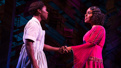 Cynthia Erivo as Celie and Jennifer Holliday as Shug Avery in The Color Purple.