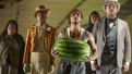 Daniel J. Watts as Black Man With Watermelon and the cast of The Death of the Last Black Man in the Whole Entire World.