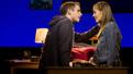 Ben Platt as Evan Hansen and Laura Dreyfuss as Zoe Murphy in Dear Evan Hansen.