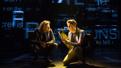 Mike Faist as Connor Murphy and Ben Platt as Evan Hansen in Dear Evan Hansen.(Original Broadway cast)