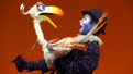 Jeffrey Kuhn as Zazu in The Lion King.