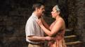 Juan Carlos Hernandez as Mostro and Selenis Levya as Samira in Tell Hector I Miss Him.