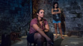 Dascha Polanco as Malena and Yadira Guevara-Prip as Isis in Tell Hector I Miss Him.