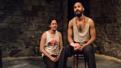 Flaco Navaja as Hugho and Luis Vega as El Mago in Tell Hector I Miss Him.
