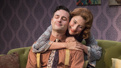 Max von Essen as Stephen Meredith and Elisabeth Gray as Anne Meredith in Yours Unfaithfully.
