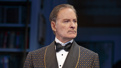 Kevin Kline as Garry Essendine in Present Laughter.