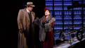 Douglas Sills as Harry Fleming and Patti LuPone as Helena Rubinstein in War Paint.