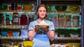 Sara Bareilles as Jenna in Waitress.